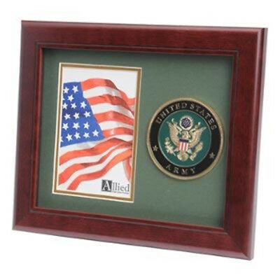 U.S. Army Medallion Portrait Picture Frame By Veterans