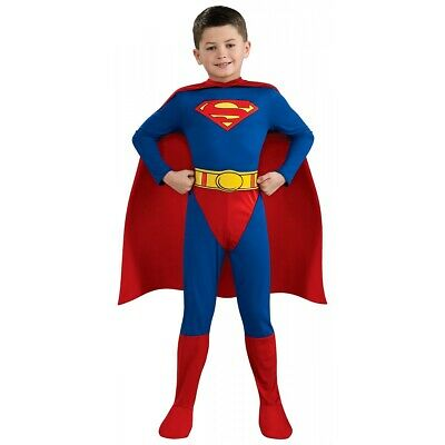 Superman Costume Kids Halloween Fancy Dress