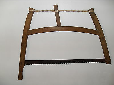 Primitive Antique French Bow Saw