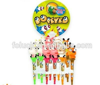 Novelty Farm Animal Popeyed Topped Pens Gift/back To School Stationary Ty4234
