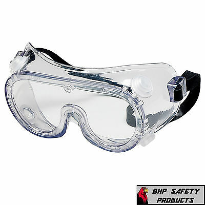 Lab Safety Goggles Crews 2230R Indirect Vent Chemical Splash (1 Pair)