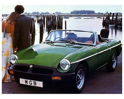 1980 MG MGB Automobile Photo Poster zca2746