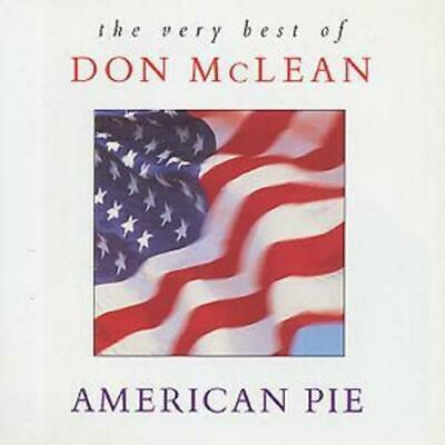 Don McLean : The Very Best Of Don McLean: AMERICAN PIE CD (1994)