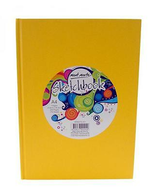 Mont Marte Sketch Book A4 Hard Cover 220page 110gsm