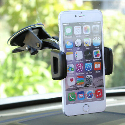 Windshield Suction Cup Phone Mount For Apple iPhone 6 Plus 6s Plus Swivel  mn
