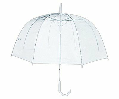 RainStoppers W3465 Clear PVC Dome Umbrella by RainStoppers (20020-133) CXX