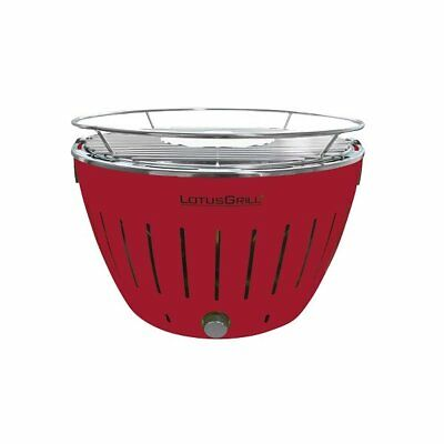 LotusGrill G-RO-34 Feuerrot Holzkohlegrill