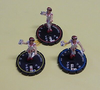 Horrorclix The Lab Candy Striper #043 044 045 REV SET NO CARDS USED