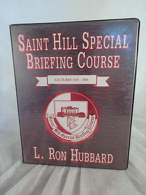 Ron Hubbard Scientology Lectures 349-360 The Saint Hill Special Briefing Course
