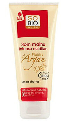 Soin Mains Seches Plaisirs D'argan So Bio Etic 75 Ml