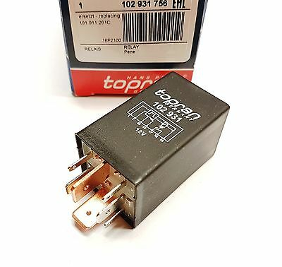 Glow Plug Relay Control Unit For VW Seat 1.5 1.6 1.9 2.4 D TD
