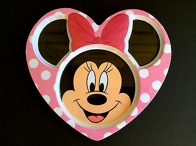 DISNEY Store MEAL TIME MAGIC Collection Plate MINNIE MOUSE with Bow Detail NEW