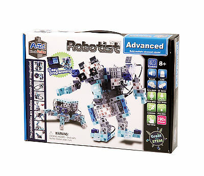 Artec Robotist Transforming Advanced Robotics DIY Build w/ Arduino Program Kit
