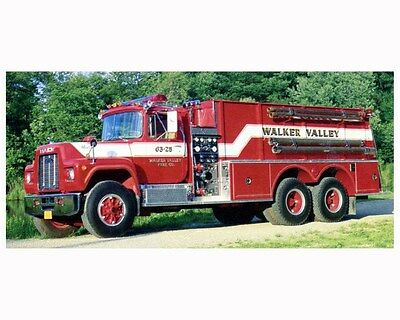 1989 Pierce Tanker Fire Truck Photo Poster zca2875