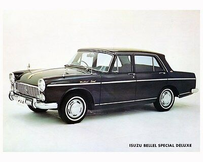 1964 Isuzu Bellel Special Deluxe PS20 Automobile Photo Poster zca2885