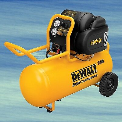 TOP Portable Compressor DEWALT 1.6HP 200PSI Oil Free Low Noise Horizontal #4310