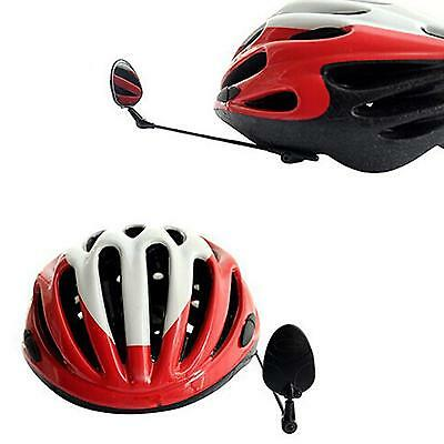 MTB Bicycle Bike Rear View Riding Helmet Safe Mirror Third Eye Safety Rearview