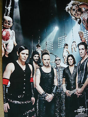 Rammstein - Magazine Cutting (Full Page Photo) (Ref 1T)