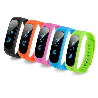 Smart Watch Health Bracelet Fitness Bluetooth Waterproof for iPhone Android AU