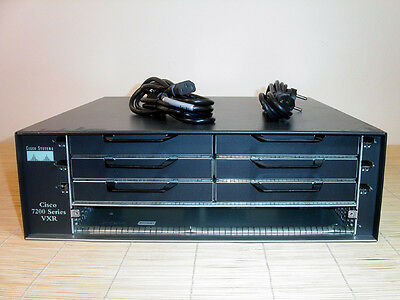 Cisco Router 7206 VXR 7206VXR CHASSIS, 2x PWR-7200-ACE Power Supply / Netzteil