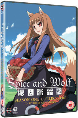 Spice and Wolf: The Complete Season 1 DVD (2012) Takeo Takahashi ***NEW***