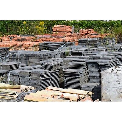 Monier MRD12934 Cement Roofing Gray Tile Approx 4,000 +Tiles