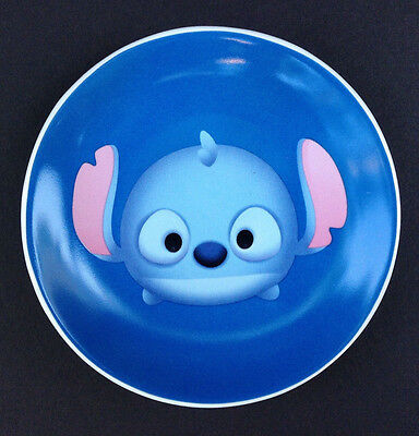 "DISNEY Store TSUM TSUM STITCH Ceramic DISH 4 1/2"" MINI Plate NEW"