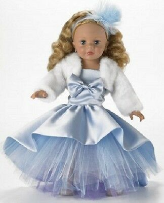 New Madame Alexander ~ Blue Shimmer Princess ~ 18 inch Doll