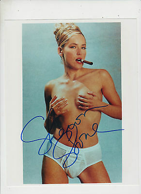 Sharon Stone 20cm x 25cm signed photograph with COA
