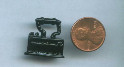 Miniature Dollhouse Large Vintage Black Coal Iron