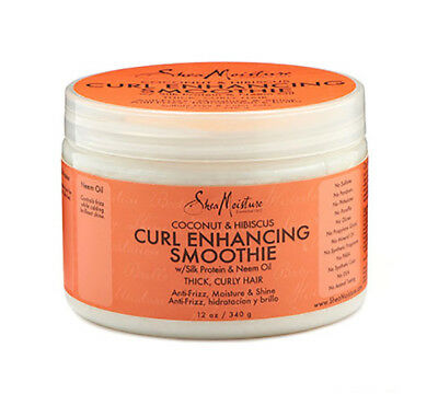 [Shea Moisture] Coconut & Hibiscus Curl Enhancing Smoothie 12Oz