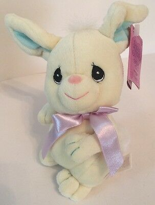 NEW Precious Moments Tender Tails EASTER Bunny Rabbit Tender Tails Plush Bean