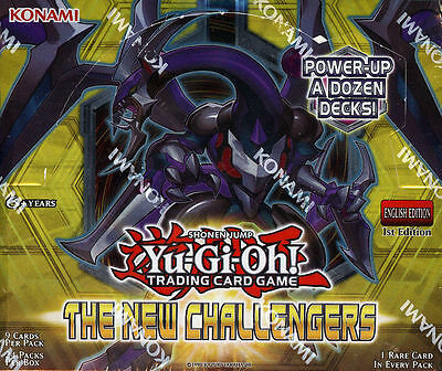 Yu-Gi-Oh Tcg The New Challengers 1St Edition Factory Sealed Booster Box!