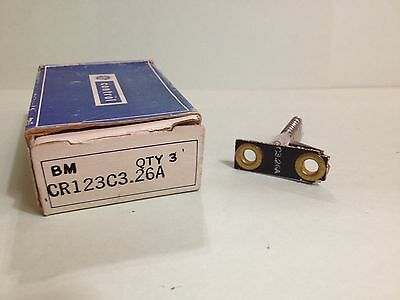 CR123C3 General Electric 26A Thermal Overload Heater Motor Starter Unit C326A