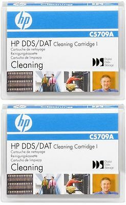 2 x HP DDS Cleaning Tape Cartridge for DDS1/DDS2/DDS3/DDS4 Tape Drive C5709A NEW