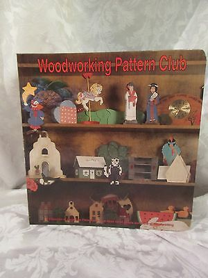 Woodworking Pattern Club 3-Ring Binder with 111 Patterns