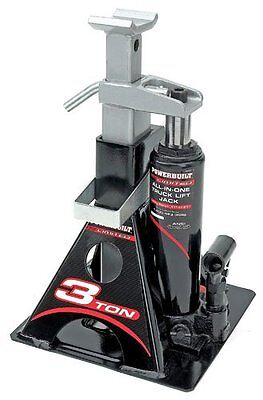 Powerbuilt 640912 All-In-One 3-Ton Bottle Jack with Jack from Alltrade  640912