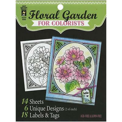 Floral Garden for Colorists Hot off the Press 8500 Acid and Lignin Free