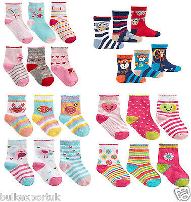 3 pack *Baby Socks* Cotton Rich