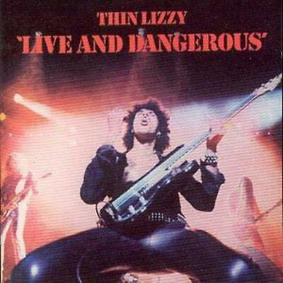 Thin Lizzy : Live and Dangerous CD (1996) ***NEW*** Expertly Refurbished Product
