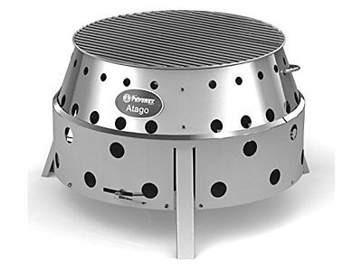 Petromax Atago BBQ - Stainless Steel Barbeque & Fire Pit