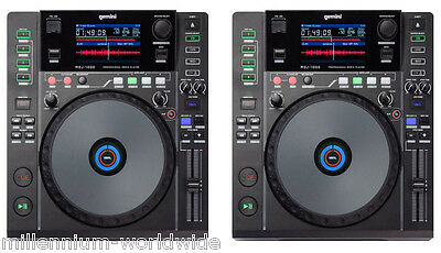 (2) GEMINI MDJ-1000 - PRO DJ MEDIA PLAYER CDJ, CD MP3 USB MIDI Authorized Dealer