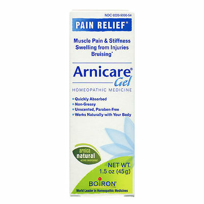 Boiron Arnicare Pain Relief Gel Homeopathic For Pain and Bruising 1.5 oz / 45 g