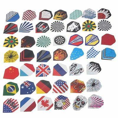 Various Colorful Styles Dart Flights Shaft Darts Tips Case Replacement Accessory