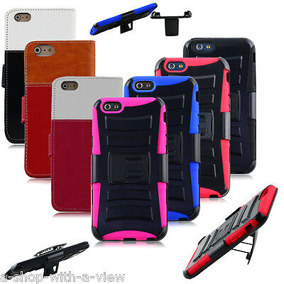 Leather PU Case Cover for Apple iPhone 6 Plus / 6S Plus Wholesale Lot of 7 pcs