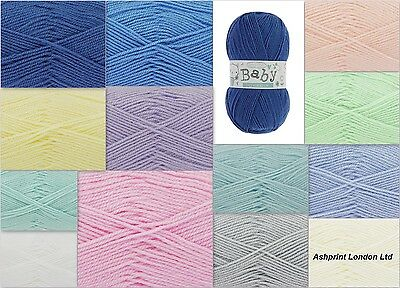 King Cole Big Value Baby DK 100% Acrylic Knitting Wool Free P&P Any Quantity