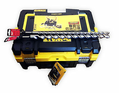 DEWALT D25414KT MULTI DRILL IN TSTAK CASE + ACCESSORIES 110V + 25 & 16mm SDS BIT
