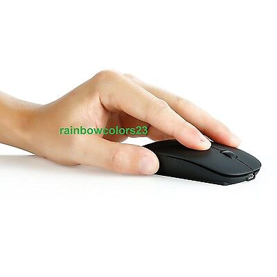 Jinlong M523 Computer Wireless Rechargeable Mouse with Lithium battery 2.4Ghz
