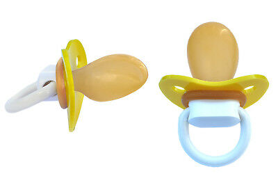 Big Adult Schnuller Pacifier DS10 Gelb  -  Nr. DS10 Yellow