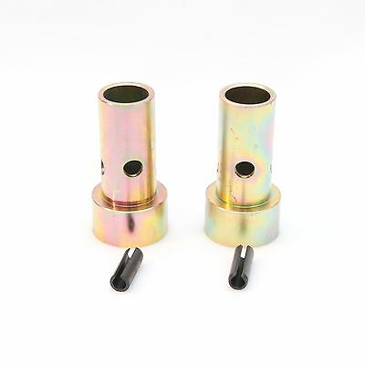 PAIR! Cat 2 Quick Hitch Adapter Bushings, Category II, Tractor 3-Pt, Bushing Set
